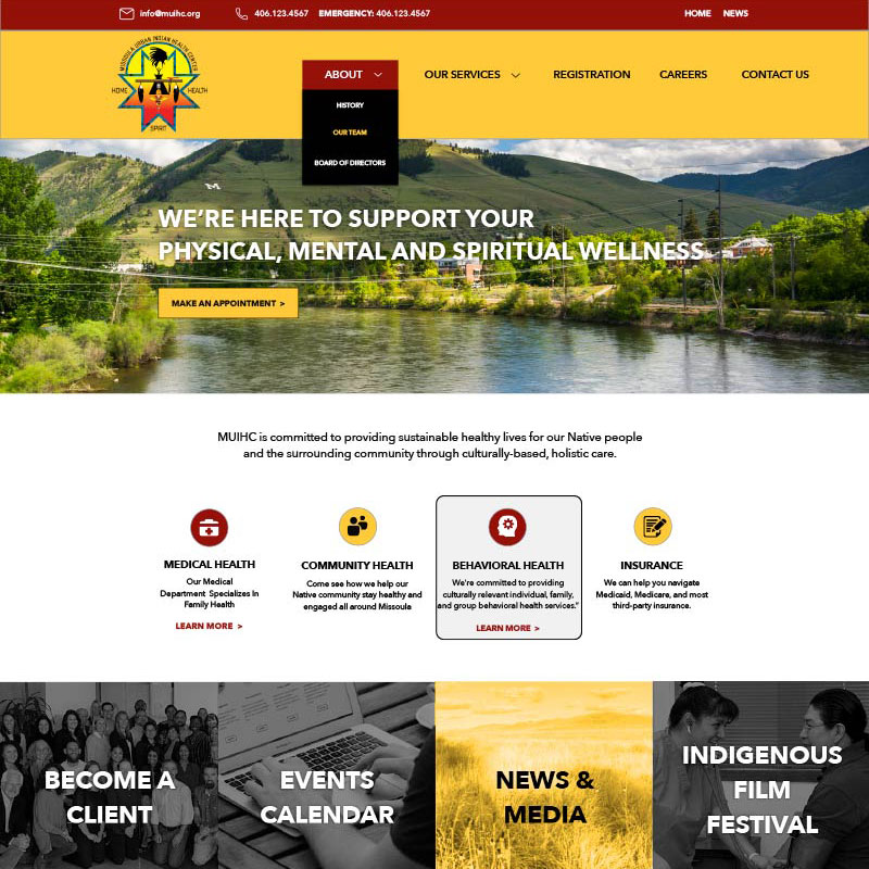 Health Site Design and Development by Mike Dreiling
