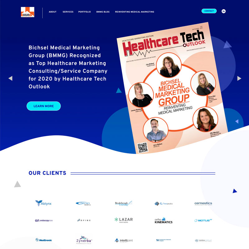 Medical Marketing Site Design by Mike Dreiling