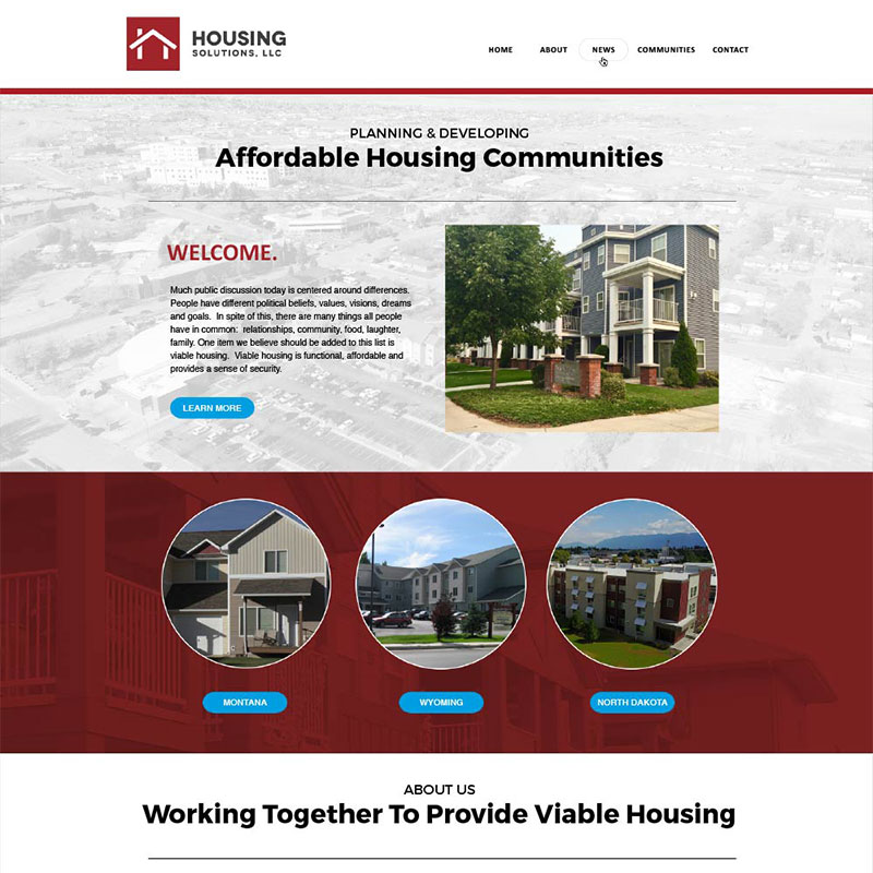 Housing Solutions Site Design and Development by Mike Dreiling